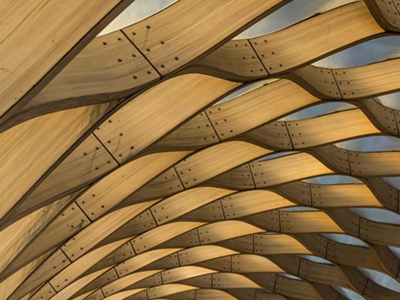 La evoluci n de las mallas de madera doble altura deco - Arquitectura en madera ...