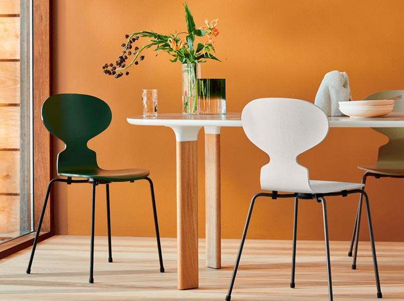 Diseño Arne Jacoben para Fritz Hansen.